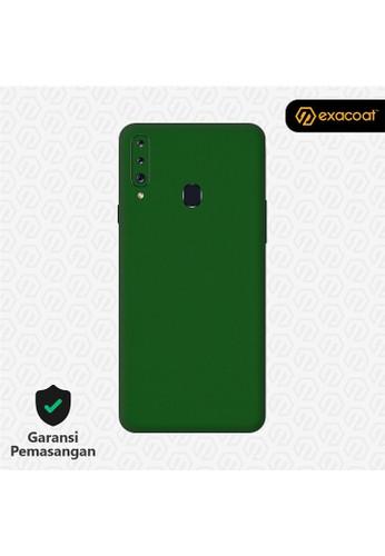 Exacoat Galaxy A20s 3M Skins True Colors - Emerald Green 19355ES280F020GS_1