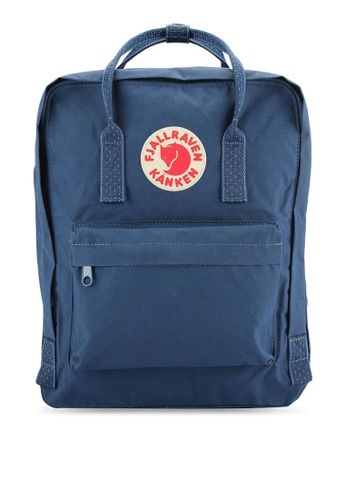 Fjallraven Kanken blue Royal Blue - Pinstripe Pattern Kanken Classic Backpack FJ382AC0RH1JMY_1