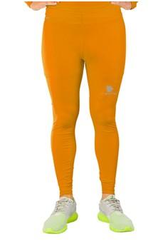 harga Tiento Baselayer Manset Rash Guard Compression Long Pants Orange Zalora.co.id