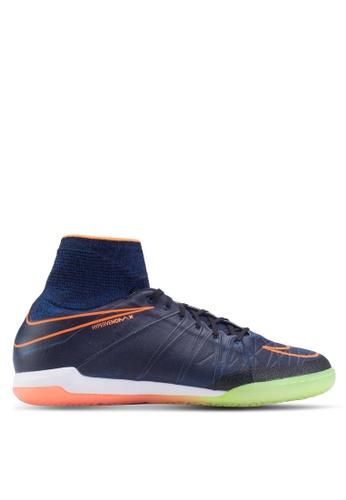 Nike black and blue Nike HyperVenomX Proximo (IC) Football Boots NI126SH04EZBMY_1