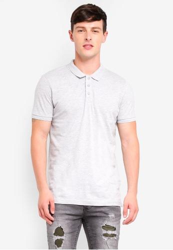 Brave Soul 白色 短袖POLO衫 E3022AAB74A2E8GS_1
