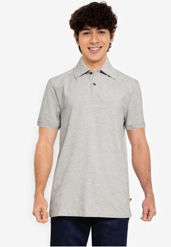 Banana Republic grey Pride Pique Polo Shirt 193EAAA6E87C24GS_1