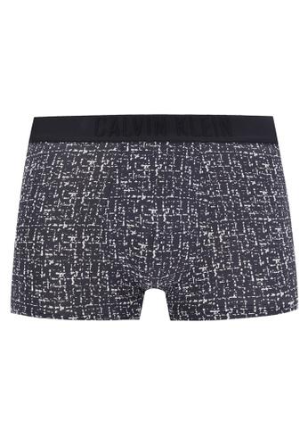 Calvin Klein black and multi Low Rise Trunks - Calvin Klein Underwear CA221US0RGGLMY_1