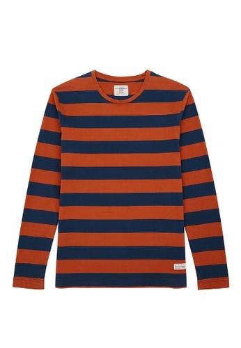 Kent and Curwen blue Royal Blue T-Shirt 411A3AA03CBBAFGS_1