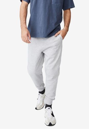 Cotton On grey Trippy Slim Trackies 64D59AAE1B3450GS_1