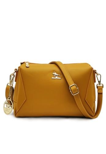 POLO HILL yellow Polo Hill Envie Crossbody Sling Bag 6E4F5AC4301108GS_1