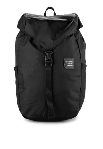 Herschel black Barlow Medium Backpack DB846ACD157B3DGS_1