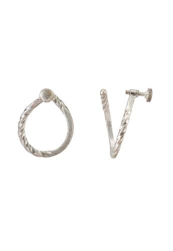 niko and ... grey Metallic Earrings B9962AC8093A08GS_1