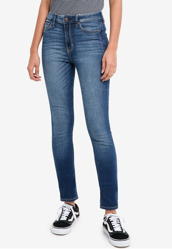 Hollister blue Dark 123488 Jeans 44649AA05D1185GS_1