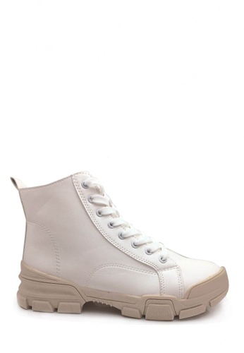 Twenty Eight Shoes white Trendy Work Boots VB9291 ACED1SH6A080F2GS_1