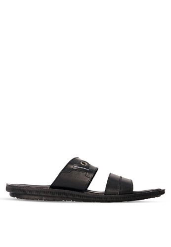 Tony Perotti black Tony Perotti Sandal Arrie - Black TO890SH0VNFFID_1