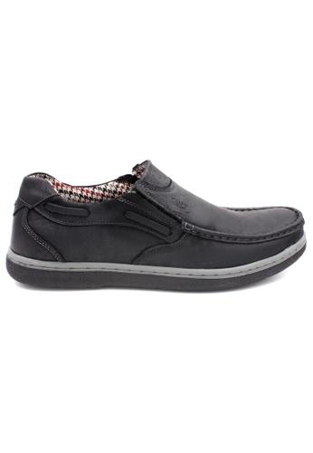 midzone black SCORPION Leather Loafer B9060SH417B794GS_1