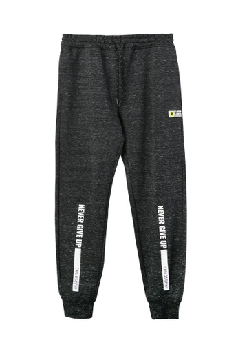 BSX black BSX regular interlock knit jogger 58C4FAA6722AD1GS_1