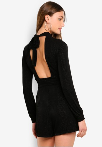 ONLY black Cosmo Romper D9DB5AAD3D911FGS_1