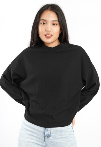 Agatha black Agatha Loose Top Black Sweater 107ECAA3D2E59DGS_1
