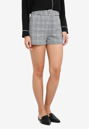 ZALORA multi Belted Shorts 1E523AAD5BD73EGS_1