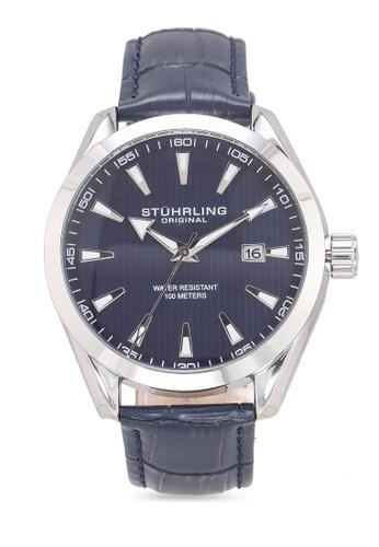 Stuhrling Original silver Forte 3953L Watch FF719ACACD6260GS_1