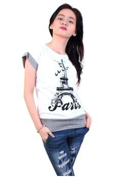 Paris Boat Neck Shirt