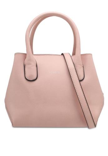 VINCCI pink Top Handle Bag VI831AC0SY7DMY_1