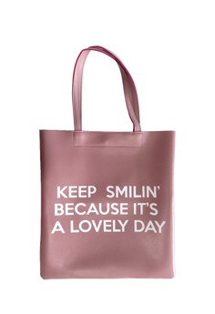 Keep Smilin Tote Bag