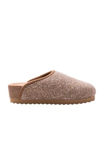 Shu Talk 米褐色 Sonia C 意大利手工製羊毛鞋 SH544SH0A7VZTW_1