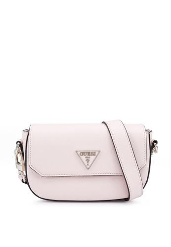 Guess pink Ambrose Mini Crossbody Flap Bag DB383AC7D09F0CGS_1
