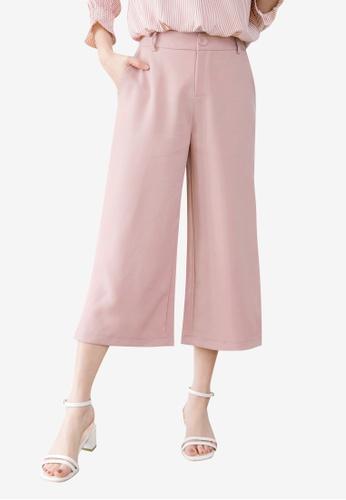 Tokichoi pink Wide Legged Trousers 0F917AA69E6D42GS_1