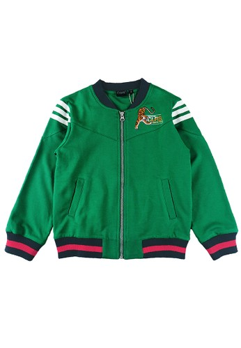 KIDS ICON green Kids Icon - Jaket Anak Laki - Laki 4-14 Tahun Colours With Cut and Sewn Detail Long Sleeve - CLJ00100200 1C55DKABC33549GS_1