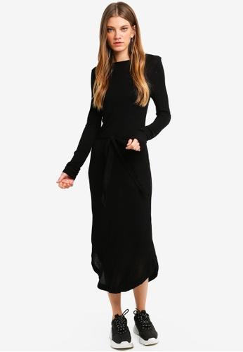 Brave Soul black Long Length Dress 9BEA6AA07E7CE6GS_1