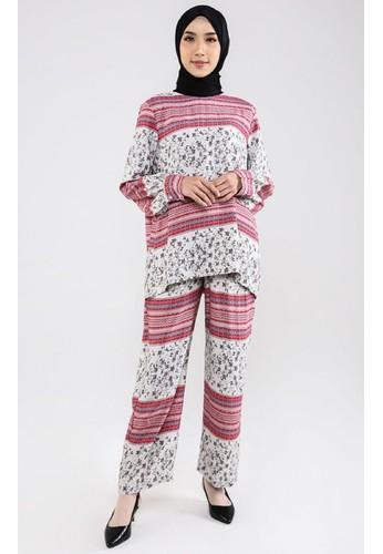 ZAHRA SIGNATURE pink SET Rayon Silk Mia 5C7A8AADB96ECCGS_1