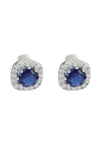 ALDO blue Kalmaleane Pierced Earrings BD734AC135A443GS_1