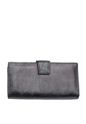 Twenty Eight Shoes black VANSA Burst Leather Bi-Fold Wallet VBW-Wt60271 BAFA5AC9BB54E9GS_1