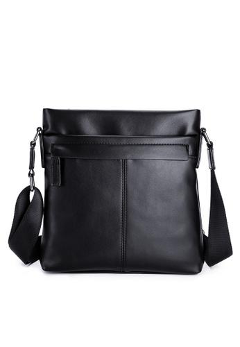 Lara black Men's Square Crossbody Bag 92340ACC4D26CBGS_1