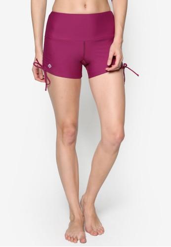側繫帶素色游泳短褲, 服飾,esprit 澳門 泳裝