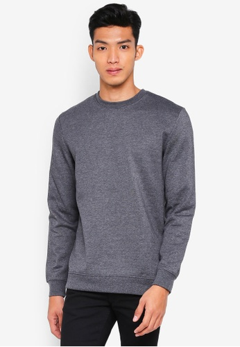 Only & Sons grey onsBASIC SWEAT CREW NECK BRUSHED NOOS 3A623AA8167909GS_1