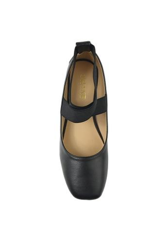 c2787915f00 Buy SHINE SHINE Cross Ankle Strap Round Toe Flats Online on ZALORA Singapore