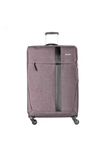 "Airways brown AIRWAYS SKYE - 24"" 4-WHEEL TROLLEY SOFT CASE 1DC62ACC97AEE3GS_1"