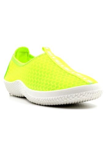 New York Sneakers green Yesha Slip On Shoes NE675SH10MFLPH_1