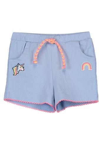 LC Waikiki blue Baby Girl Shorts 67A5AKA2881072GS_1