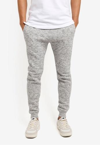 Hollister grey DTC EXT Skinny Jogger Pants CE551AA68D5600GS_1