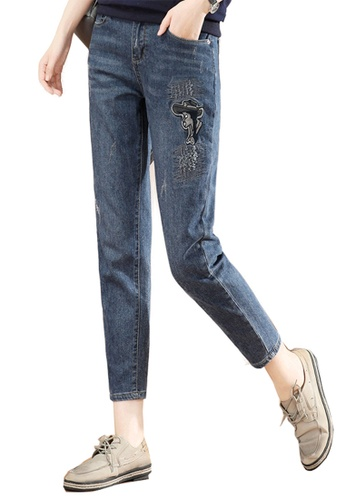 A-IN GIRLS navy Vintage Jeans 57274AA23C19D2GS_1