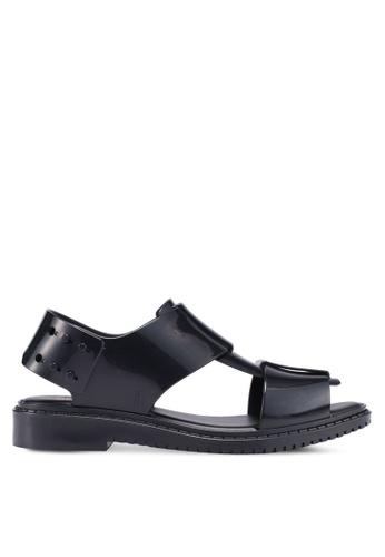 Melissa 黑色 Melissa Ladyless Ad 涼鞋 45A4FSH79BBC95GS_1