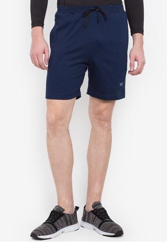 Allstar blue Cotton Terry Walking Shorts A4B58AA852A866GS_1