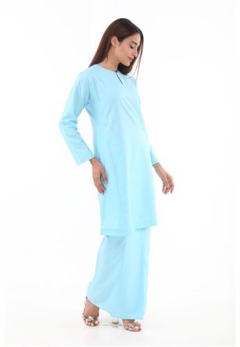 Amar Amran blue Baju Kurung Pahang Qirana 52999AA03A2D2BGS_1
