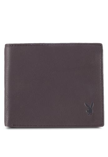 Playboy brown Playboy Genuine Leather Wallet 317F0AC9AC2ECEGS_1