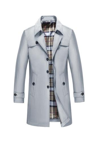 HAPPY FRIDAYS Men's Slim Casual Jacket 88905 E335AAAEEEBE9EGS_1
