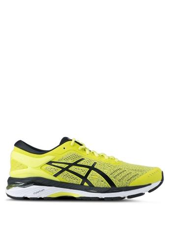 Asics yellow Gel-Kayano 24 Shoes AS989SH0SVRIMY_1