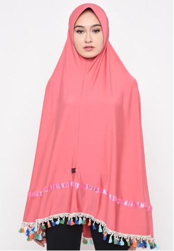 Java Seven Muslimwear pink Hudaibia Pink 81468AA03E7BD7GS_1