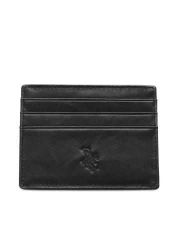 Swiss Polo black Casual Card Holder 6F721ACAAE7DBAGS_1