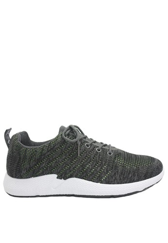 Dr. Kevin grey Dr. Kevin Men Sneakers 13387 - Grey/Green D52EFSHA89C3E8GS_1